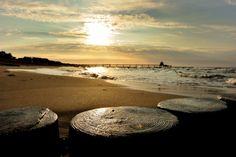 Sunset at Zingst beach