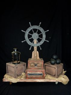 Ship's Wheel Scenery to hire from Tiggs Props PP38. Peter Pan.