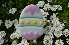 easter fused glass garden stake - Google Search
