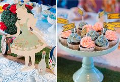 Amazing Alice in Wonderland party at the Amy Atlas blog.