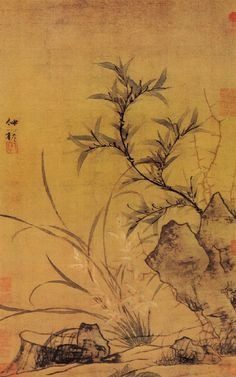 Bamboo and Orchid Painting, Yuan Dynasty, China