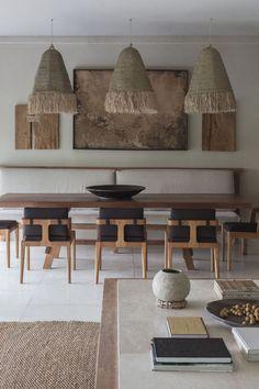 Dining Room Design, Interior Design Living Room, Interior Decorating, Dining Room Inspiration, Interior Design Inspiration, Küchen Design, Home Design, Natural Home Decor, Home And Living