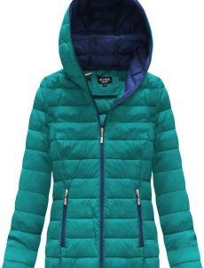 Zelenomodrá dámská prošívaná bunda s kapucí (7107A) Winter Jackets, Kids, Fashion, Winter Coats, Young Children, Moda, Boys, Winter Vest Outfits, Fashion Styles