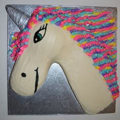 Since my 40th bday is going to have an 80's theme, I am requesting that someone who loves me makes me this rad unicorn cake!!