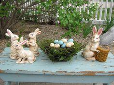 Easter scene cute