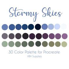 Colour Pallete, Colour Schemes, Color Combos, Color Palettes, Painted Boards, Ipad Art, Instagram Highlight Icons, Etsy App, Pantone Color