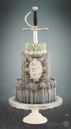 As You Wish Princess Bride Cake from Little Cherry Cake Company
