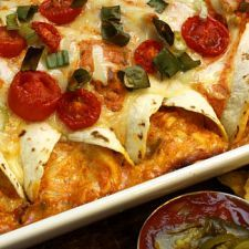 Cheesy Chicken Enchilada | MyDailyMoment | MyDailymoment.com
