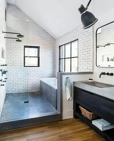 Industrial Urban Bathroom