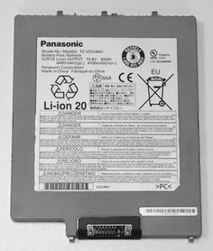 Genuine Panasonic Toughpad FZ-G1 Battery 6 Cell, model no. FZ-VZSU84U, available to purchase online at Pan-Toughbooks.com £60+VAT
