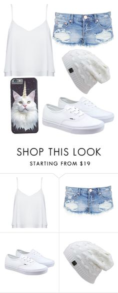 """""""Normal day"""" by fashforfunfff ❤ liked on Polyvore featuring Alice + Olivia, One Teaspoon, Vans, women's clothing, women's fashion, women, female, woman, misses and juniors"""