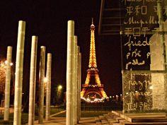 Profundidad y luz.  París.