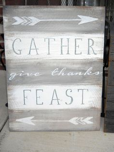 Paint A Wood Sign For Your Dining Room