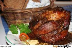 Marinované koleno podle Elišky Přemyslovny Pork Roast, Turkey, Food And Drink, Treats, Chicken, Minis, Apple Tea Cake, Chef Recipes, Sweet Like Candy