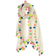 Elevate your coverup look by adding some color with Technicolor caftans, embroidered rompers, and more. Shop the 27 best pieces, including this Bidya Multi-Tasseled Scarf. Salwar Designs, Blouse Designs, Scarf Design, Little White Dresses, Indian Designer Wear, Pakistani Dresses, Scarf Styles, Womens Scarves, Couture