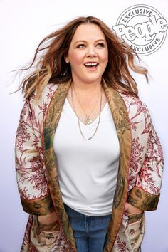 Melissa McCarthy in the latest PEOPLE cover story Melissa Mccarthy, Look Plus Size, Plus Size Women, Curvy Fashion, Plus Size Fashion, Womens Fashion, Fat Fashion, Plus Size Outfits, Trendy Outfits