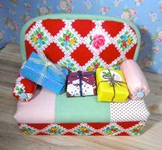 プリティソファーお嫁に行きました。 カズミンブログ ドール用ベッド&ソファー・・他いろいろ♡