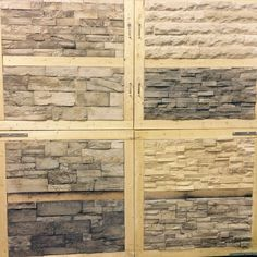New @creativemines samples going up in our #Calgary store. Stop in and check them out 5432 56 Ave SE www.KodiakMountain.com #kodiakmountainstone #creativemines #customhomes #yycliving #yycdesign #luxuryhomes #stone #veneer #craft #samples #yyc
