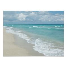 Extreme Relaxation Beach View Poster LOVE IT!!  U CAN DO ANY SIZE!!
