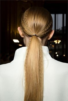 Pretty Ponytails for Summer 2015 Hairstyles, Ponytail Hairstyles, Pretty Hairstyles, Casual Hairstyles, Medium Hairstyles, Hairstyle Ideas, Inspo Cheveux, Hair Trends 2015, Crimped Hair