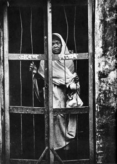 A Bangladeshi refugee woman during the liberation war of Bangladesh against Pakistan. (1971) Photographer- Kishor Parekh