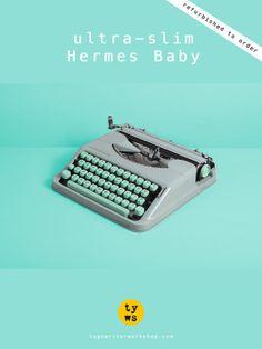 The cult Hermes Baby typewriter!