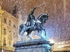 [PHOTOS] Romantic Zagreb Under Snow Captured