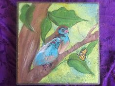 Stepping Stone art hand-painted garden decoration