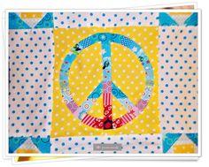 Peace Paperpiecing Malala Probenähen Jannymade