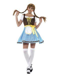 Olga+Baijerilainen Oktoberfest Fancy Dress, Oktoberfest Costume, Girl Costumes, Adult Costumes, Costumes For Women, Wench Costume, Costume Dress, Dresses Uk, Short Dresses