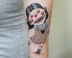 Creative Tattoos, Great Tattoos, New Tattoos, Anime Tattoos, Disney Tattoos, Piercing Tattoo, Piercings, Intimate Tattoos, Grunge Tattoo