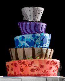 carnival cakes, wedding cake, circus cake