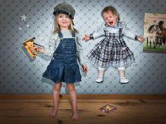 mi piace !!!! queste coccole  fra sorelle!!!