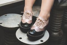 Chaussures Maurice Manufacture La Fiancée du Panda - derbies glitter et noires - Panda Living blog lifestyle--18
