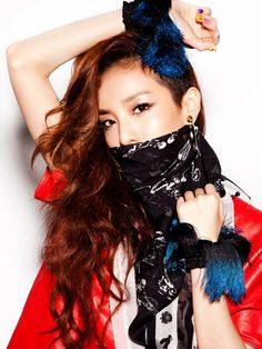 Sandara Park ★ 2NE1 for complex magazine