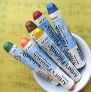 Shiva Oil Painstiks - Permanent, Fade proof oil paint in stick form! I have these and they are great to work with. Blends well.