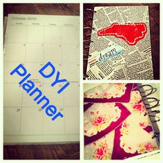 Design Your Ideas - homemade planner