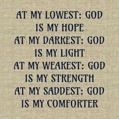 GOD IS MY ALL!!