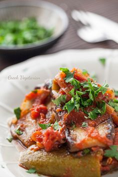 Eggplant Stew - Vegetarian & Vegan Recipes