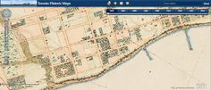 Get Interactive With Historical Toronto Maps Historical Maps, Geography, Ontario, Toronto, Thesis, Arch, Canada, Travel, Culture