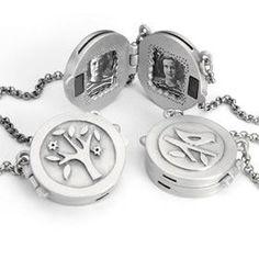 Emily Rosenfeld Tree Locket Necklace 1