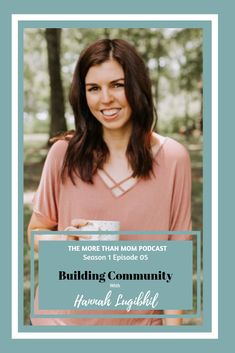 The More Than Mom Podcast: Building Community with Hannah Lugibihl on Apple Podcasts Mom Blogs, Instagram Accounts, Female Bodies, Breast Cancer, Connect, Community, Pretty, Women, Woman