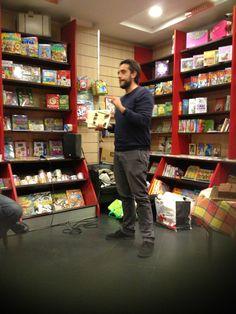 Massimiliano Timpano e le sue esperienze da libraio #NonSonoSòle 2014 #books #badbooks