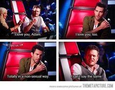 I love you, Adam…
