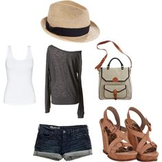 Summer outfit- with capri's though