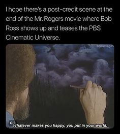 Bob Ross Show, The Mister, Are You Happy, Scene, Make It Yourself, Movies, Films, Cinema, Movie
