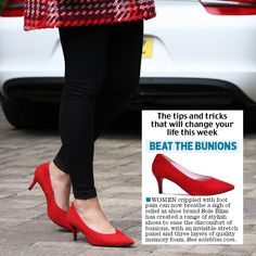 The Irish Daily Mail offer 'tips & tricks that will change your life this week' and mentioned Sole Bliss, Stylish shoes for bunions!