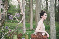 Disney's Maleficent wedding inspiration shoot | Bit of Ivory Photography & Palette of Petals | see more on: http://burnettsboards.com/2014/05/disneys-maleficent-inspired-wedding/