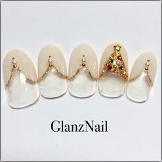 Christmas nails Fabulous Nails, Great Nails, Gorgeous Nails, Love Nails, Xmas Nails, Holiday Nails, Valentine Nails, Halloween Nails, Christmas Nail Designs