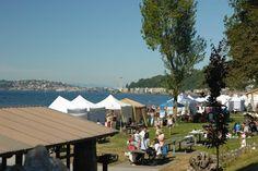 Alki Art Fair is West Seattle's biggest summer art event.
